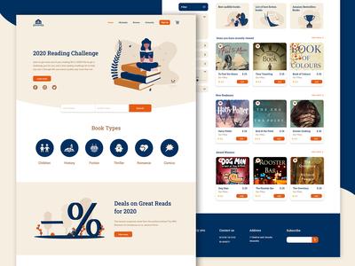 Book Shop website