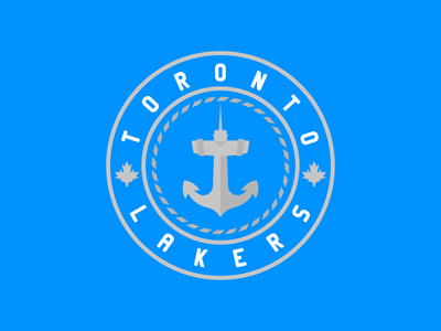 Toronto Lakers Updated sportsbranding logo branding