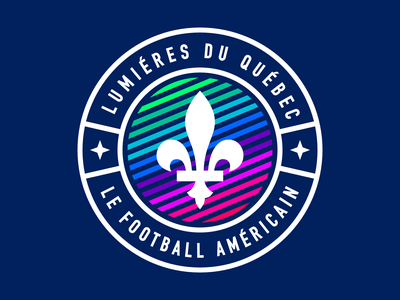 Quebec Lights/Lumieres du Québec sportsbranding logo branding