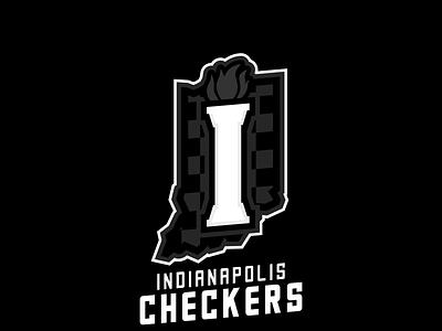 Indianapolis Checkers sportsbranding logo branding