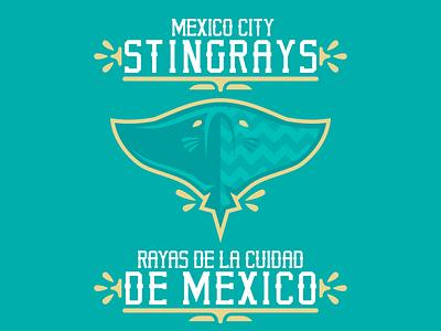 Mexico City Stingrays sportsbranding logo branding