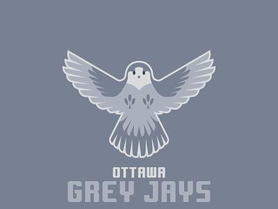 Ottawa Grey Jays sportsbranding logo