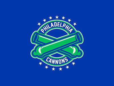 Philadelphia Cannons sportsbranding logo