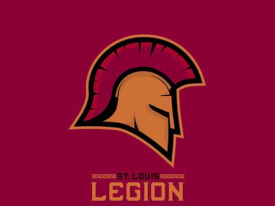 St  Louis Legion sportsbranding logo