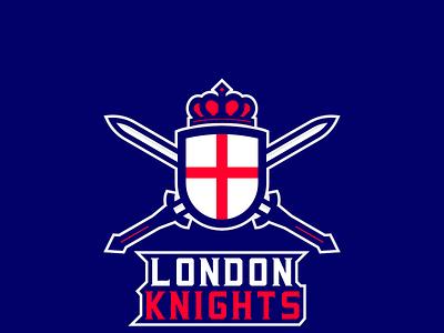 London Knights sportsbranding logo