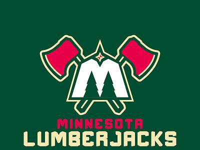 Minnesota Lumberjacks sportsbranding logo