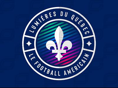 Québec Lumiéres iaafproject design branding sportsbranding logo