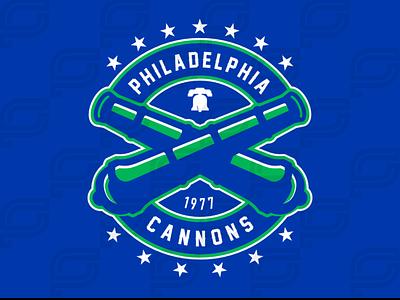 Philadelphia Cannons iaafproject design branding sportsbranding logo