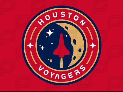Houston Voyagers iaafproject design branding sportsbranding logo