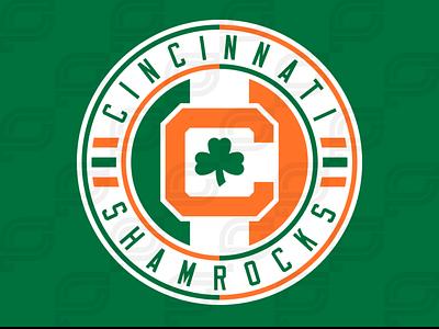 Cincinnati Shamrocks iaafproject design branding sportsbranding logo