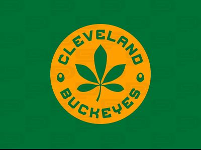 Cleveland Buckeyes iaafproject design branding sportsbranding logo