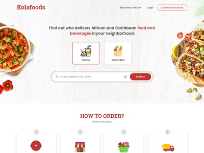 Online Food and Grocery delivery