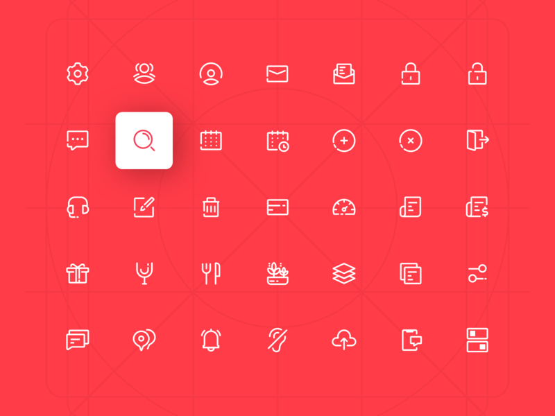 Merchant Panel Icon Design keyline design ui flaticon flat icon icons pack icon pack icon set iconset icons icon
