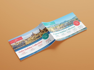 Paradise Holiday Collection 2019 offer travel tourism layouts hotel holiday designs layout brochure branding design