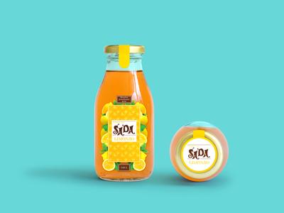 Label Design of Lemonade Bottle 2015 juice bottle berries label packaging label design label creative illustration branding vector layout design