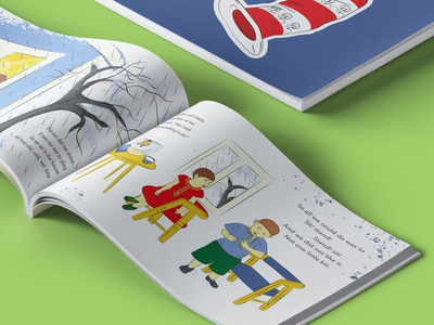 Cat in the Hat Illustration 2019 kids illustration childrenbook children character drawing kids creative brochure typography illustration vector layout design