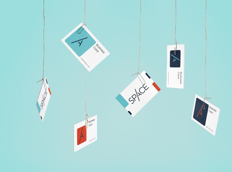 Space creative logodesign logo typography branding illustration vector layout design