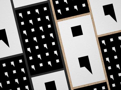 Semicolon flyer design poster illustration vector layout design