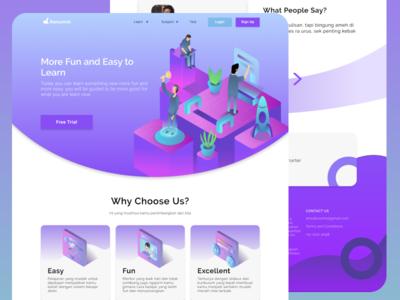 Education Page Exploration