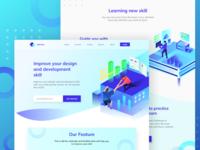 Improve Skill Website Design