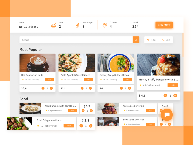 Restaurant Food Dashboard gradients ux ui order food eat food and beverage apps food restaurant dashboards dashboard
