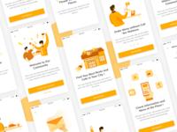 Restaurant Illustration for Mobile Apps