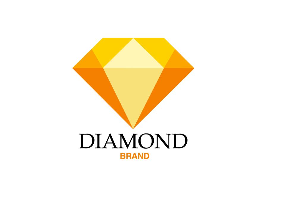 Diamond logo brand by Anone Nyame on Dribbble