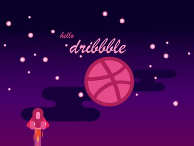 hello dribbble. inviting invite