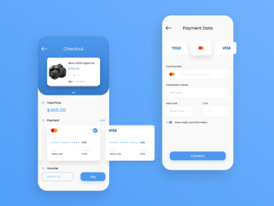 Credit Card Checkout Design