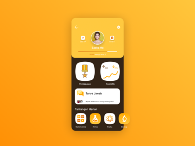User profile- DailyUI 006
