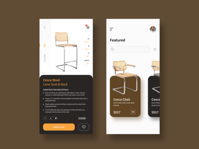 chairs mobile app