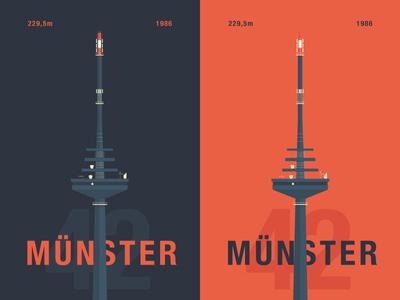 """Münster 42"" – TV Tower"