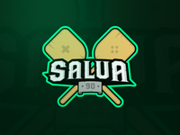 Salva90 – Streamer Logo