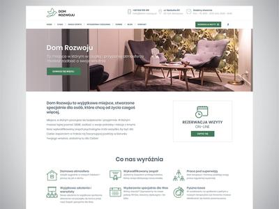 Dom Rozwoju - Webdesign