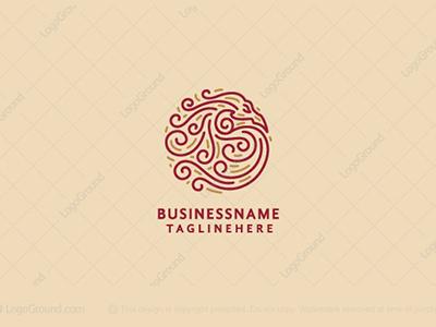 Dragon Swirls Logo