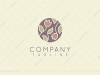 Lotus Flowers Logo
