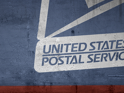 Does the mail service run post-apocalypse? texture grungy realistic