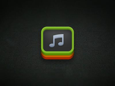 Music Queue icon ios iphone music note queue