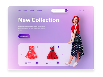 Cloth online Shop dressing cloth dress web design website shopping shop woman landingpage ux ui trendy design trending trend fashion design fashion branding online modern minimal