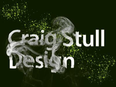 Craig Design Smoke design typography
