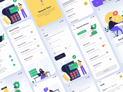 Payment Pages | Rook Room Booking UI Kit real estate hotel booking room booking payment payment app ios design android design ui kit
