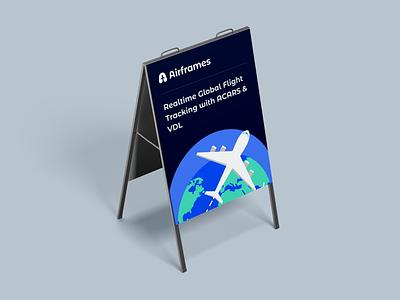 Airframes Logo | Global Flight Tracking Ecosystem brand guidelines brand identity logo inspiration aircraft airplane airplane logo aeroplan logo minimal logo modern logo logo design