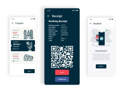 Volio Real Estate and Hotel App UI Kit
