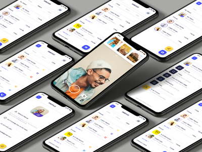 Social Messaging App ios android messenger ui components ui kit ios ui contacts profile whatsapp messaging app social app