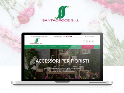 UI/UX and Web Shop design - Santacroce Italy uiux design web shop desgin web design uiux