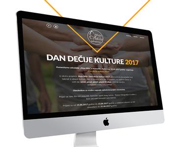 Web UI/UX design - Charity organization landing page back-end uiux design charity desgin web design uiux