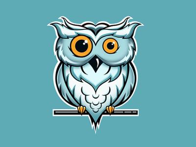 Logo design - Owl owl web logo desing logo