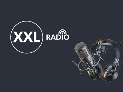 Logo design - XXL Radio xxl design logo design radio design radio logo logo
