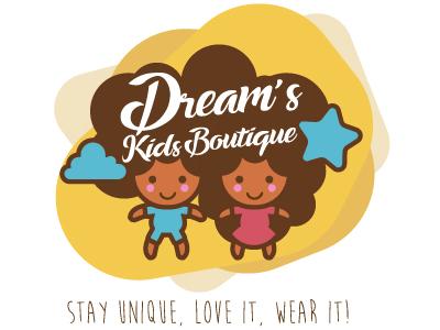 Dream's Kids Boutique logo boutique kids dream