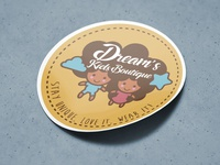 Dream's Kids Boutique Sticker